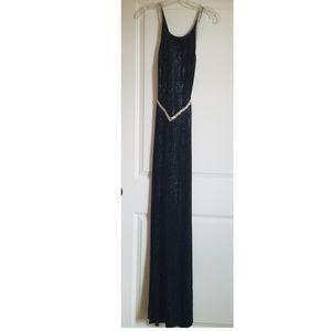 Janine black sexy gown